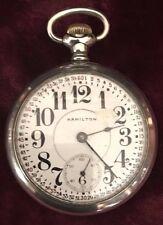 Hamilton Railroad Pocket Watch 17 JW