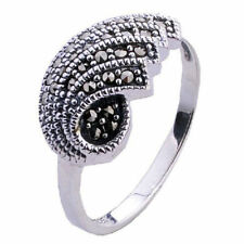 Special Occasion Stone Sterling Silver Rings for Men