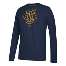 Uc Irvine Anteaters Ncaa Adidas Navy Primary School Logo Climalite L/S T-Shirt