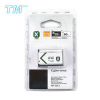 NP-BX1 Battery for DSC-RX100 II DSC-RX1 HDR-AS15 HDR-AS10 HX300 WX300 US