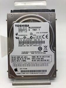 Internal Hard Drive 250GB 2,5pouces Toshiba Model MK2555GSXF Laptop D'Partys