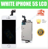 FULL iPhone 5S LCD Digitizer Replacement Screen Genuine OEM White A1453 A1457