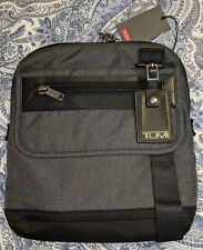 Tumi Eastern Zip Top Flap Crossbody Messenger Bag