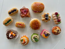 Bakery Baked Goods Food Magnets Soft Magnetic ~ Lot of 13