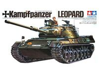 TAMIYA 1:35 KIT CARRO ARMATO TEDESCO GERMAN TANK KAMPFPANZER LEOPARD ART  35064