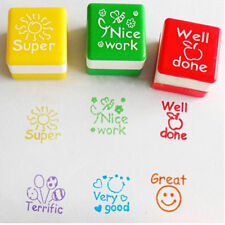 Teachers Stamper Reward Stamps Self Inking Praise Motivation Sticker Hot Sales