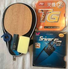 Custom-made Yasaka Table Tennis Bat w/Case, Ma Lin YE / G3-FX Penhold, Melbourne