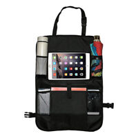 Car Back Seat Organizer Protector Tablet Holder Travel Pocket Phone Book Storage