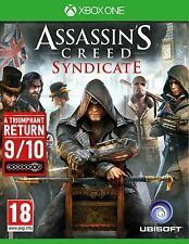 Assassins Creed Syndicate Videogames For Xbox One Games Console New Sealed Uk
