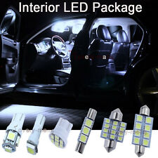 White SMD Car Bulb Light Interior LED Package 7pcs Kit For Toyota RAV4 2006-2013