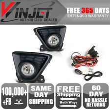Fits 13-15 Mazda CX-5 Clear Bumper Driving Fog Lights + Switch Kit