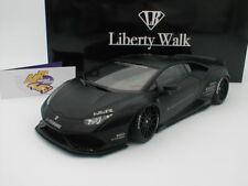 """AUTOart 79121 - Lamborghini Huracan Liberty Walk Bj. 2016 """" mattschwarz """" 1:18"""