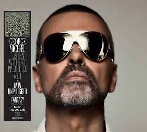 GEORGE MICHAEL ‎– LISTEN WITHOUT PREJUDICE VOL. 1 + MTV UNPLUGGED 2CDs NEW