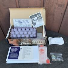 CLAIROL KINDNESS DELUXE 3-Way HAIRSETTER Model K400S 20 Instant HOT ROLLERS