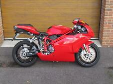 2005/55 Ducati 999 Biposto with 10,700 miles in Red