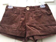 Ocean Pacific Vintage Op Corduroy Women'S Shorts Chocolate Candies Brown 1