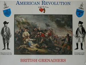 A Call To Arms 1/32 British Grenadiers American Revolution Series 8
