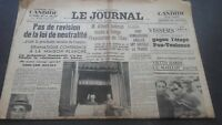 Newspapers The Journal N°17074 Jeudi 20 July 1939 ABE