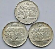 3 x 100 Francs Frank 1948 FR - 1951 NL