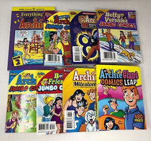 Lot of 8 Archie Comics Digest Jughead Betty & Veronica 2019-2021 Books AL