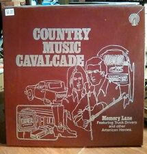 Memory Lane~Featuring Truck Driver/other American Heros VTG Rare~3 LP BOX SET