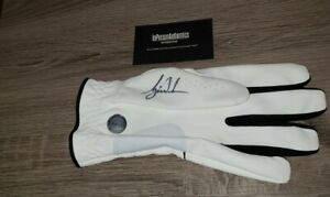 Used Tiger Woods Signed Autographed Glove Certified COA