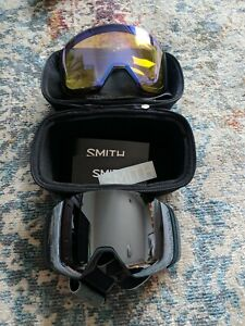 Smith 4D Mag Ski Goggles (Case And Extra Lens Included)