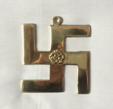 "Hindu Swastika Sign 3.5"" H Ritual Hanging"