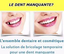 Temporaire remplacement fausse dents dentier provisoire™️