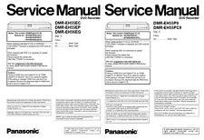 Panasonic DMR-EH55 EH56 DVD Recorder Service Manual & Repair Guide