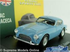 AC ACECA MODEL CAR 1:43 SCALE BLUE CLASSIC ATLAS NOREV SPORTS COUPE K8