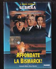 EBOND affondate la bismarck DVD EDITORIALE grande cinema di guerra D507009