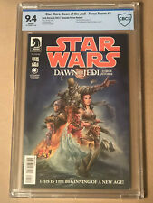 STAR WARS DAWN OF THE JEDI FORCE STORM #1 CBCS 9.4 FLORES 1:10 VARIANT NOT CGC