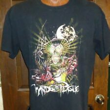 WINDS OF PLAGUE black no tag t-shirt, American deathcore band from Upland, CA