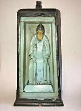RARE Russian carved Figure of St. Nilus Stolobensky Nil Icon