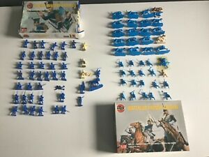 Airfix 1/72 plastic toy soldiers Napoleonic French Infantry & Cavalry 2 Boxes