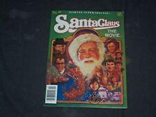 1985 SANTA CLAUS THE MOVIE MAGAZINE - COMIC BOOK STORY - CW 1092