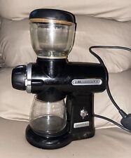 KitchenAid Artisan Coffee Burr Grinder Onyx Black - 5KCG100BOB0