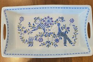 Lotte Figgjo oven/serving dish Large 34 x 19.5 x 5 cm blue