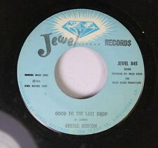 Blues 45 Buster Benton - Good To The Last Drop / Money Is The Name Of The Game O