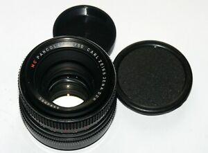 EXC! MC Carl Zeiss Jena Pancolar 1.8/50 M42 screw mount lens
