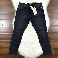 Current Elliott Women's Size 32 Black Catscratch Destroy Stiletto Skinny Jeans