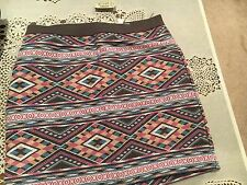 NWT. American Eagle Aztec Skirt. Size 2.