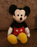 "Disney Posh Paws Mickey Mouse Soft Plush Toy Beanie 7"" Walt Disney"