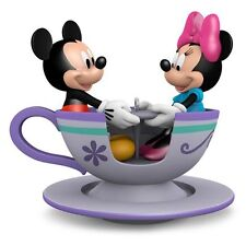Teacup For Two 2016 Hallmark Disney Christmas Ornament Mickey & Minnie Mouse NIB