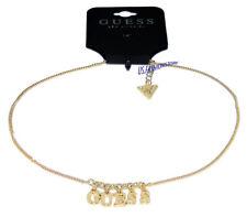 GUESS Schmuck Halskette Necklace Kette gold Anhänger Beauty Neu !