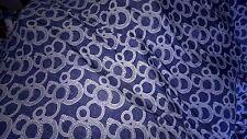 beau tissu jersey lycra fonds bleu jeans  ideal maillot 100X140 cm