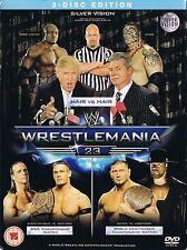 WWE Wrestling DVD - WRESTLEMANIA 23 tna ecw wcw roh njpw wwf wccw awa dwa wxw dx