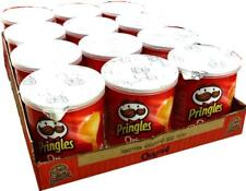 (1000g=20,73€) Pringles Chips - Original - 12 x 40g - Portionspackungen - Dosen