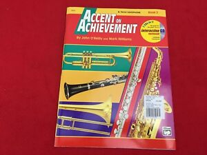 Accent on Achievement - Book 2 - Bb Tenor Saxophone - With CD - 18262